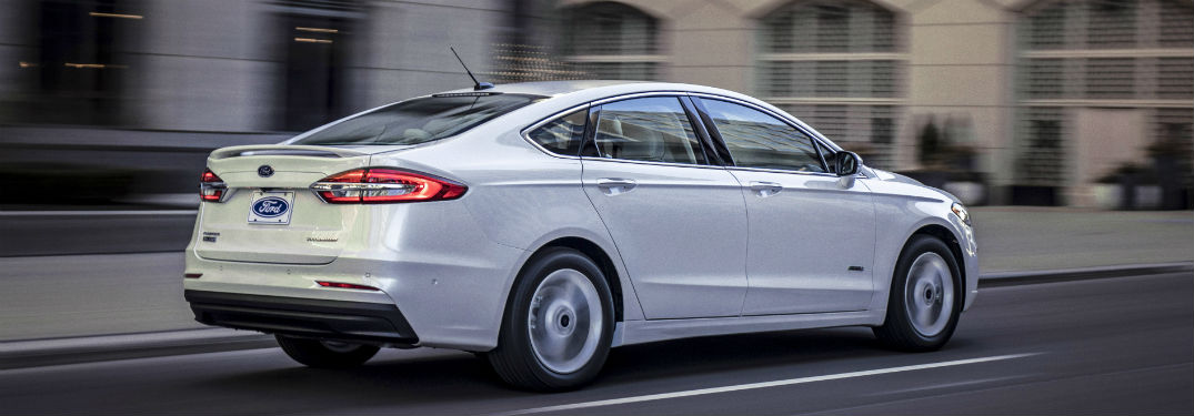 2019 Ford Fusion Lineup Passenger Volume And Trunk Space