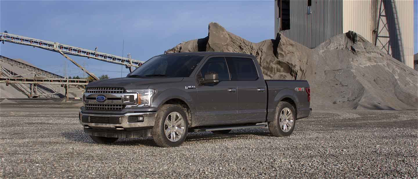 2019 Ford F-150 Abyss Gray Exterior Color