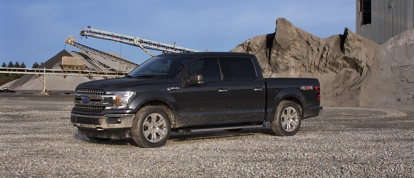 2019 Ford F-150 Agate Black Exterior Color