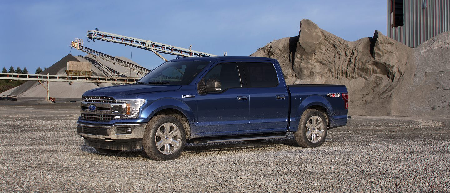 2019 Ford F-150 Blue Jeans Exterior Color
