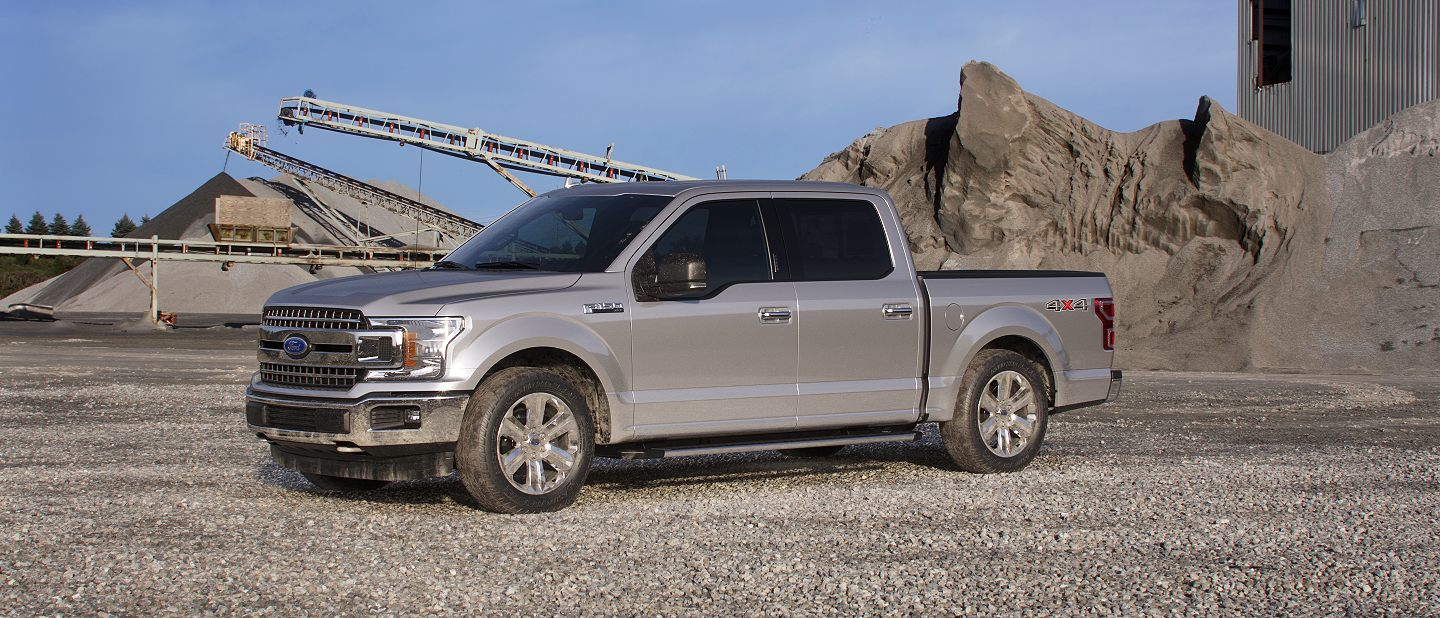 2019 Ford F-150 Ingot Silver Exterior Color