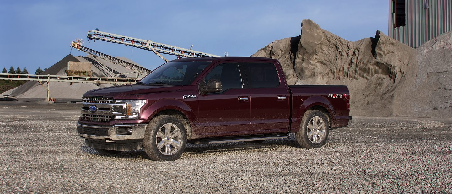 2019 Ford F-150 Magma Red Exterior Color