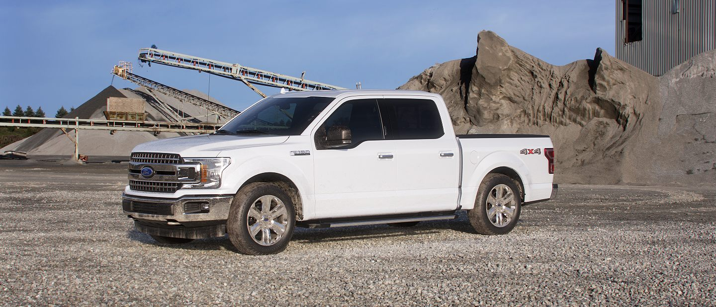 2019 Ford F-150 Oxford White Exterior Color