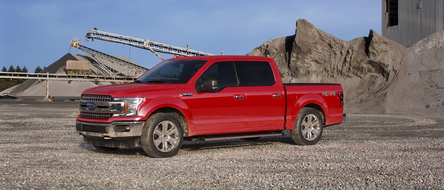 2019 Ford F-150 Race Red Exterior Color