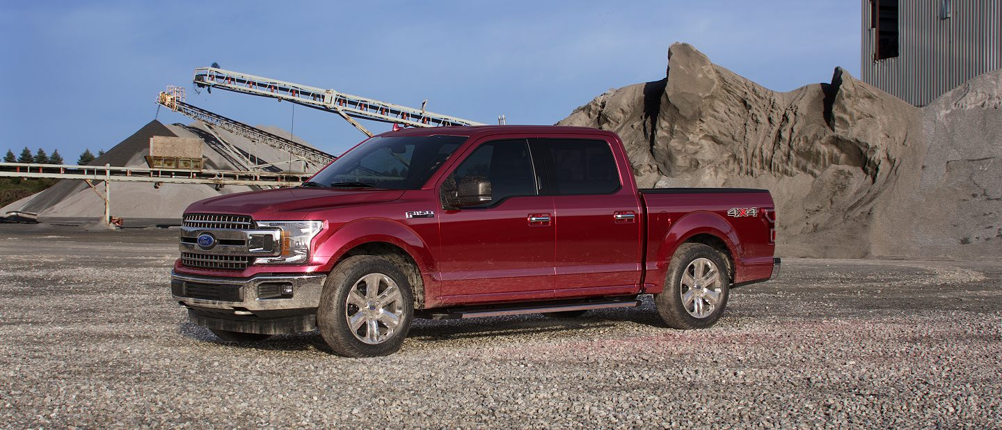 2019 Ford F-150 Ruby Red Exterior Color