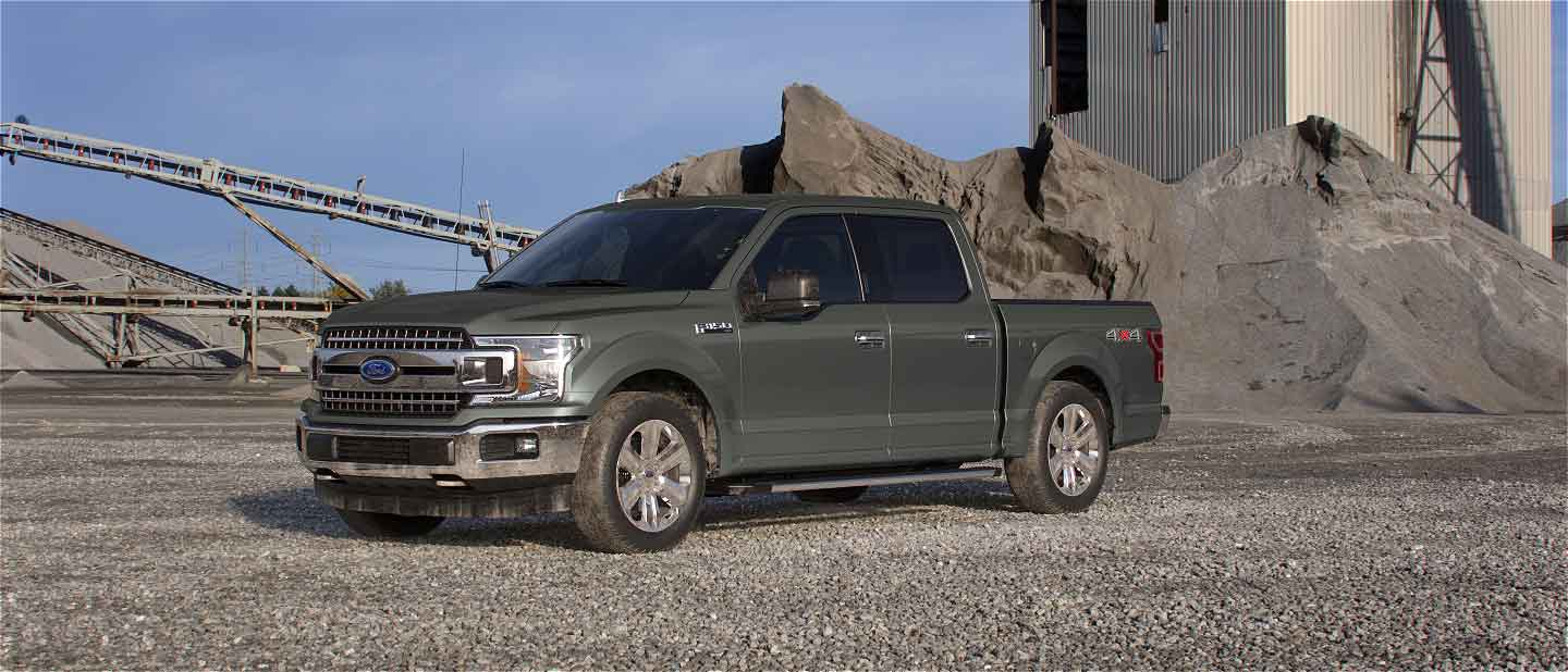 2019 Ford F-150 Silver Spruce Exterior Color