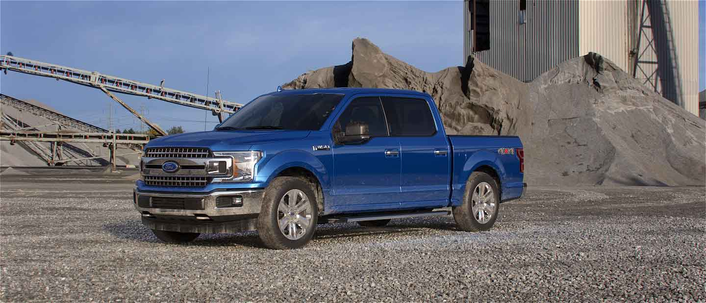 2019 Ford F-150 Velocity Blue Exterior Color