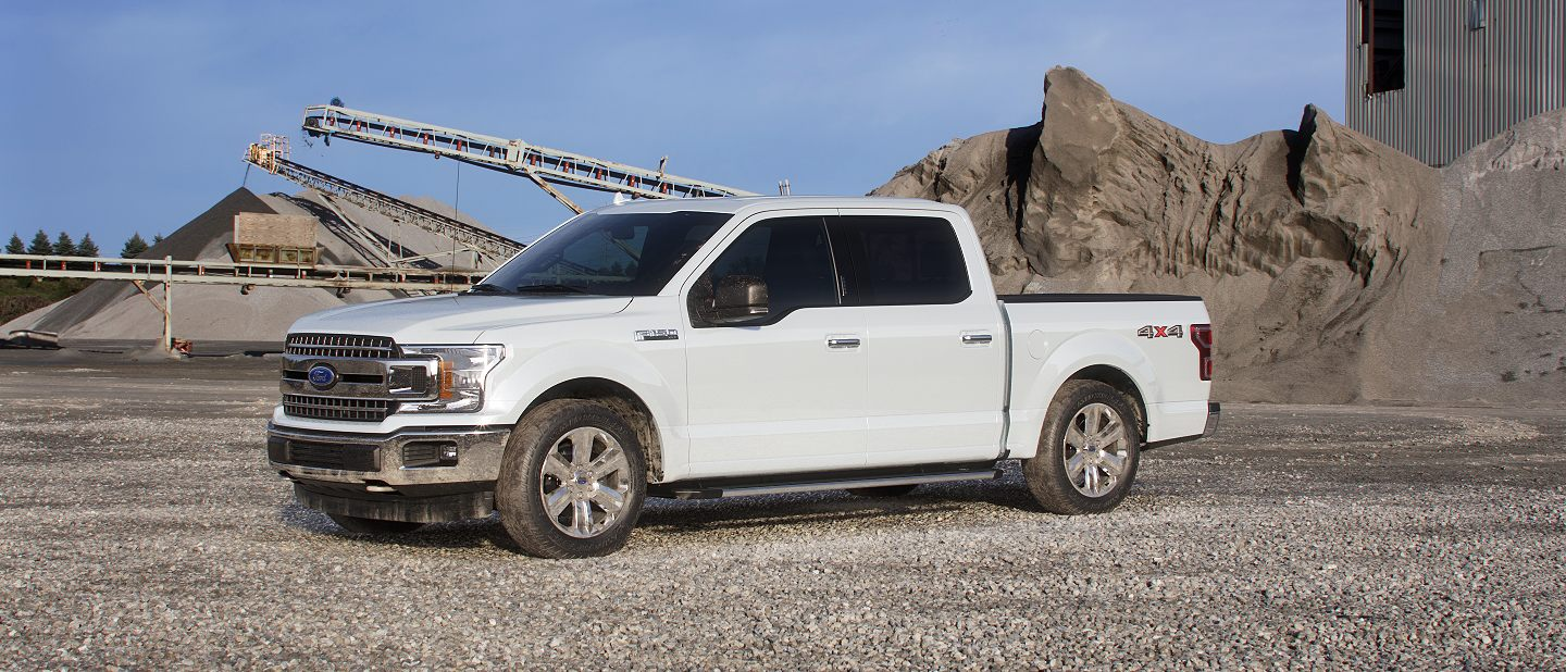 2019 Ford F-150 White Platinum Exterior Color
