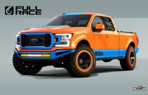 2019 Ford F-150 customized for the 2018 SEMA show