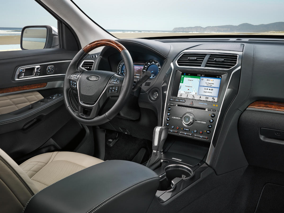 What Comes Standard with a 2019 Ford Explorer?