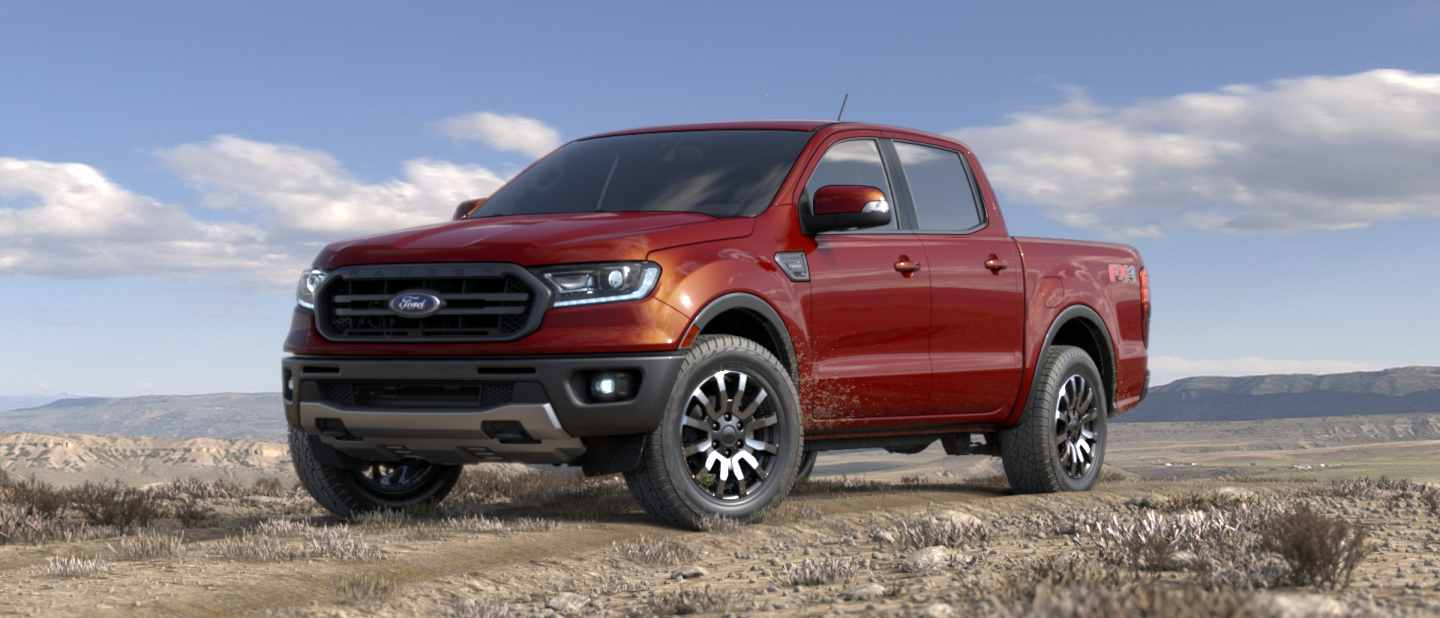 2019 Ford Ranger Exterior Color Option Gallery