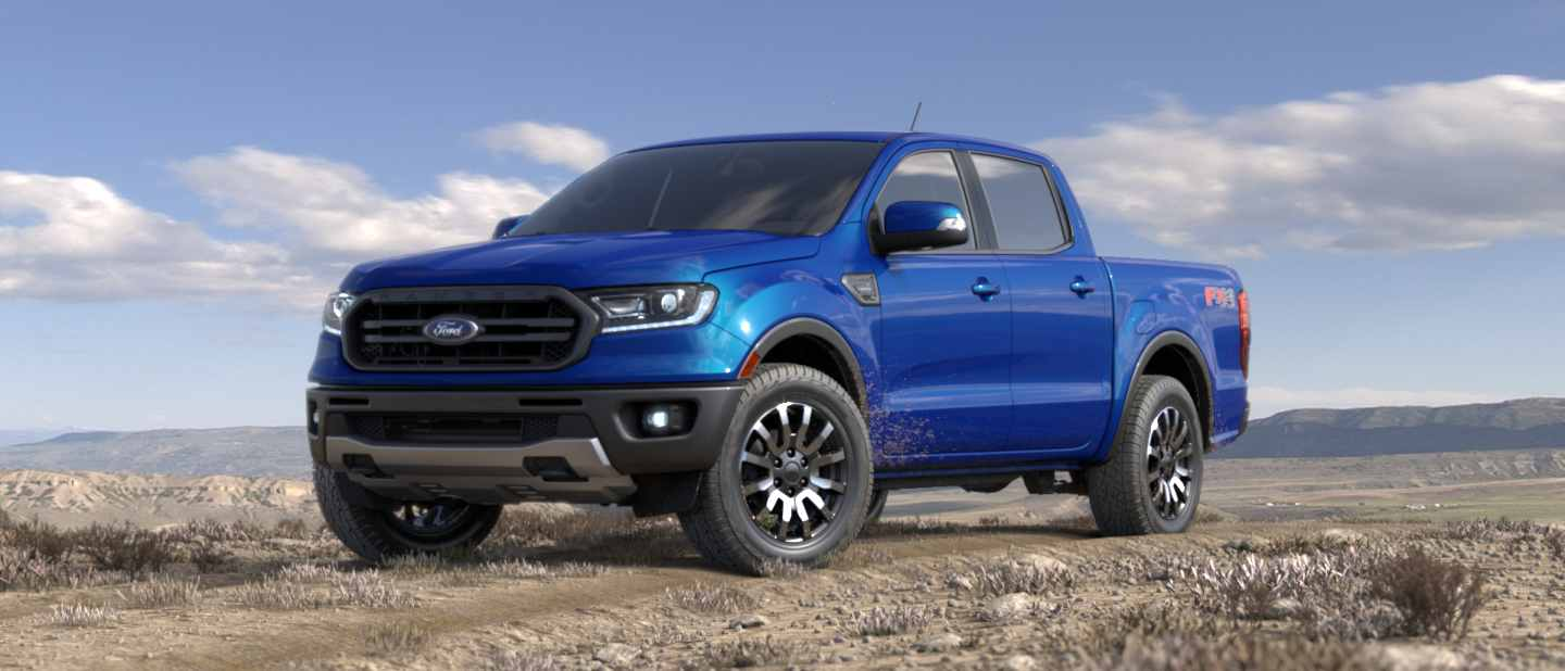 2019 Ford Ranger Lightning Blue Exterior Color O Brandon Ford