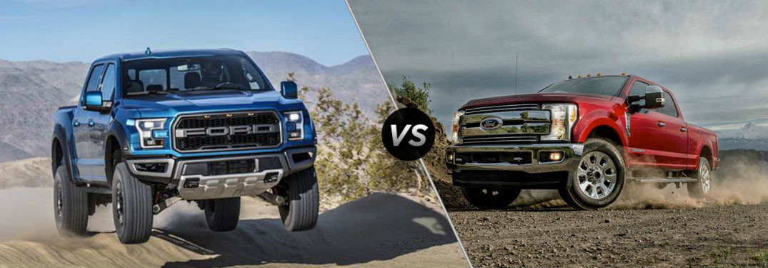 2019 Ford F-150 vs 2019 Ford Super Duty