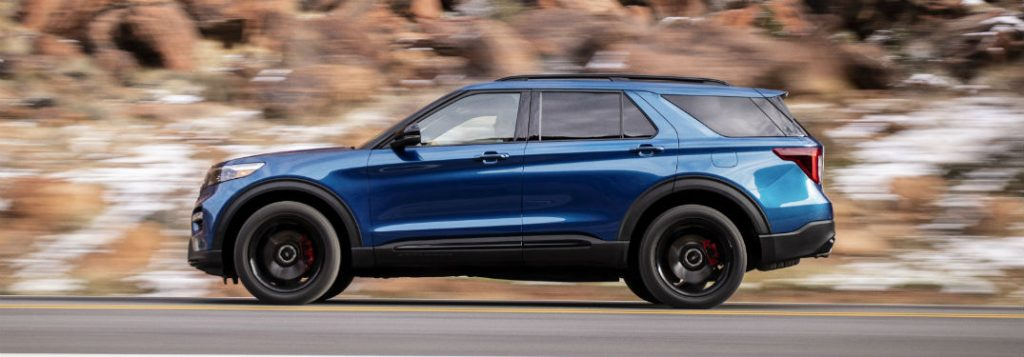 ford explorer redesigned interior  exterior style features