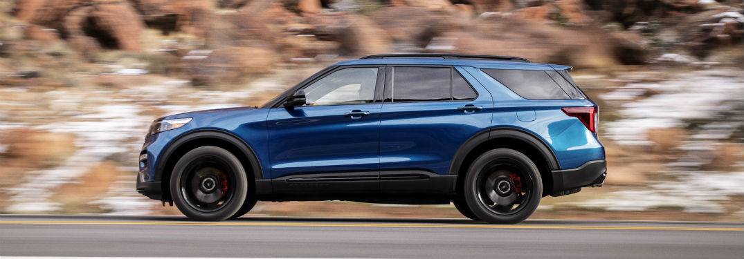 2020 Ford Explorer Redesigned Interior And Exterior Style Features