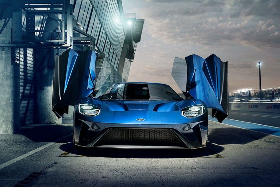 Check Out The Stylish New  Ford Gt Lineup With This Gallery From Brandon Ford In Tampa Fl Front Of  Ford Gt Doors Open_o