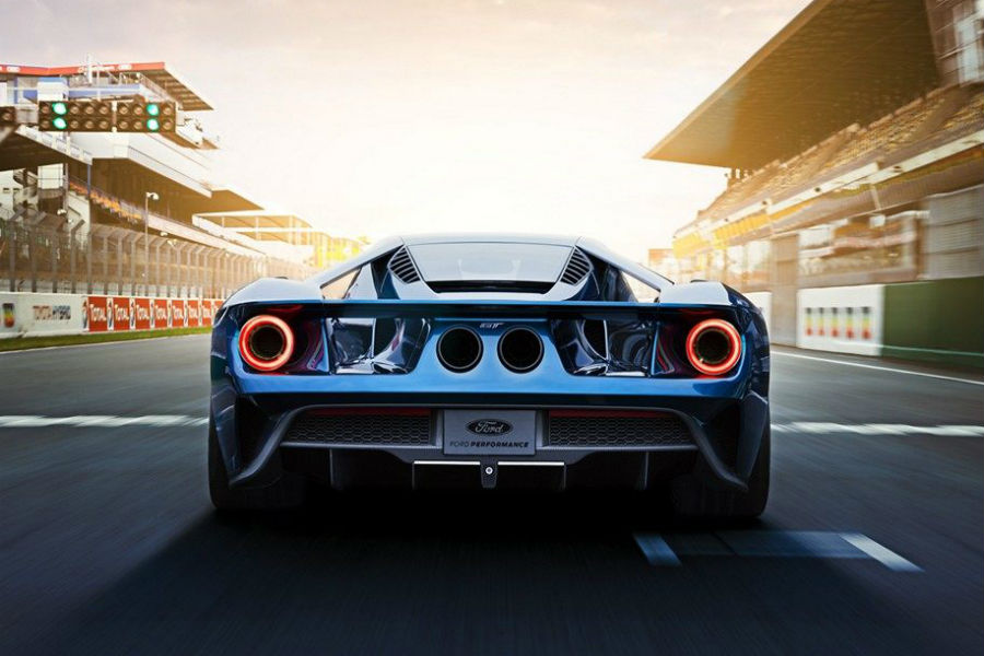 Check Out The Stylish New  Ford Gt Lineup With This Gallery From Brandon Ford In Tampa Fl Rear Of A  Ford Gt_o