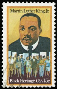 MLK Jr stamp