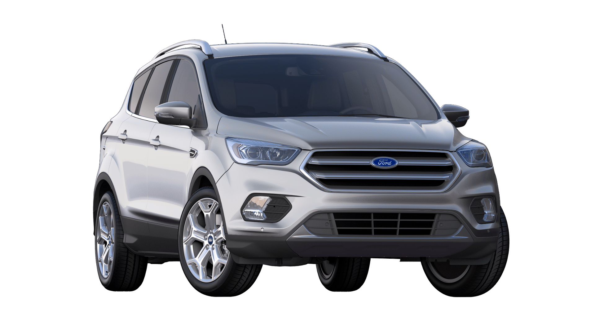 2019 Ford Escape Ingot Silver Exterior Color