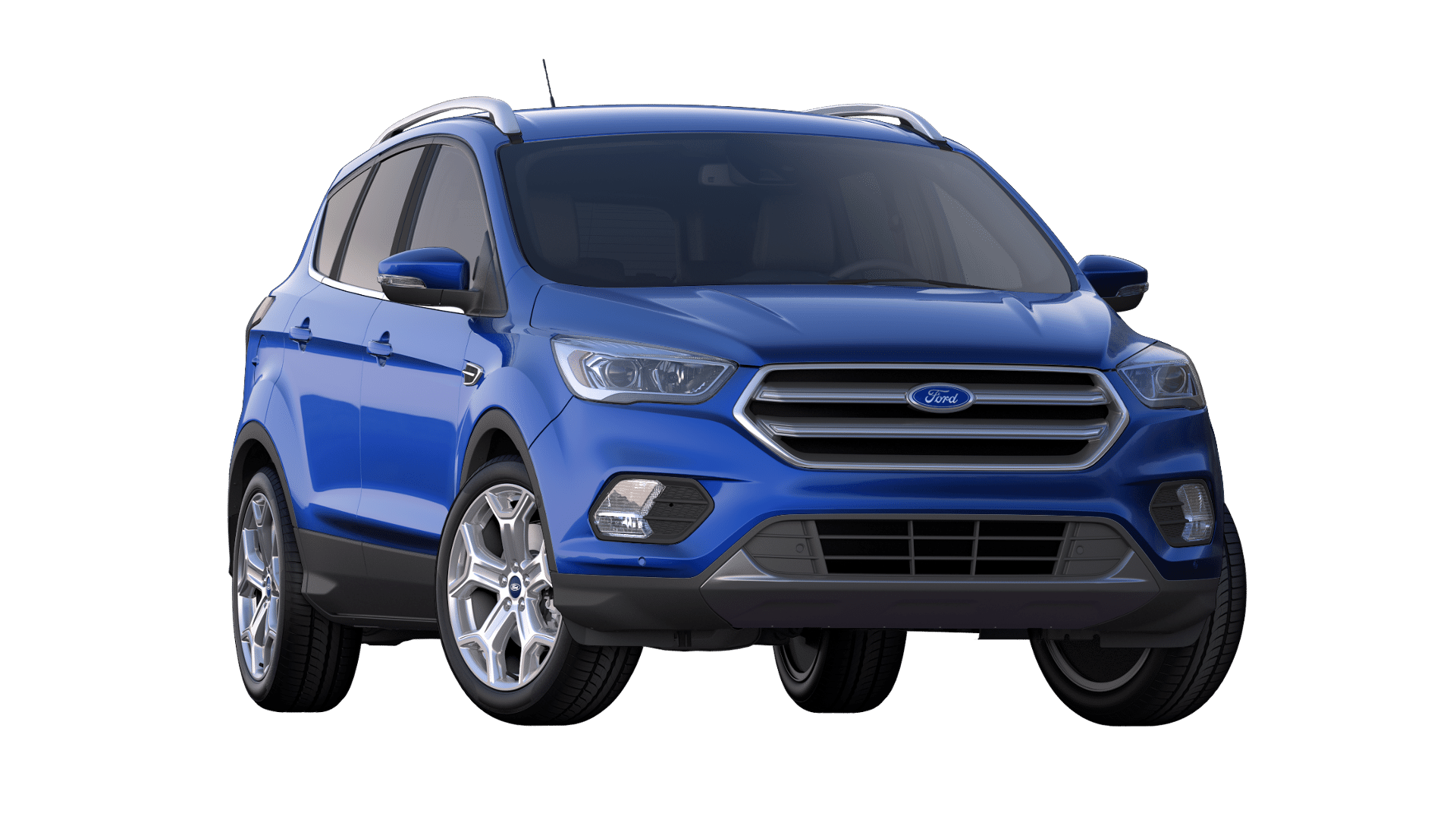 2019 Ford Escape Lightning Blue Exterior Color