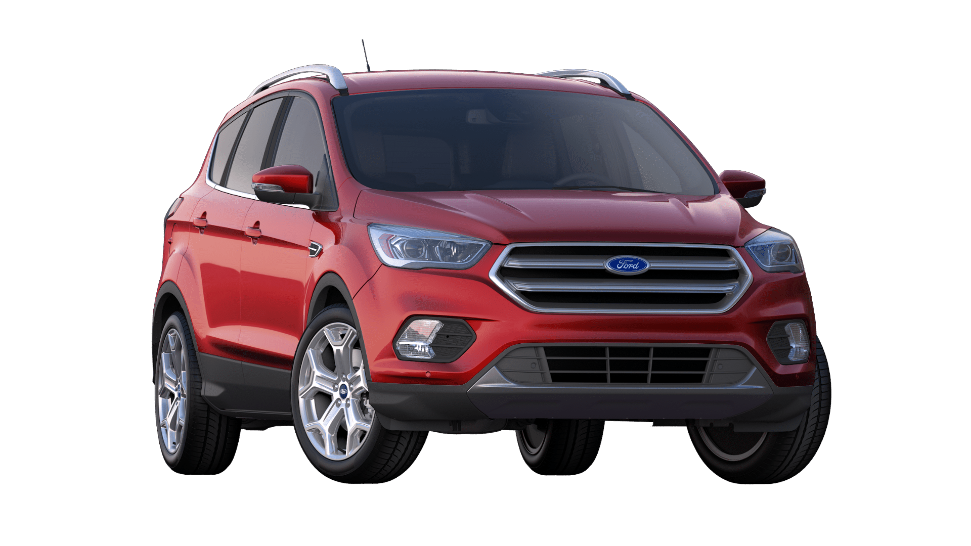 2019 Ford Escape Ruby Red Exterior Color