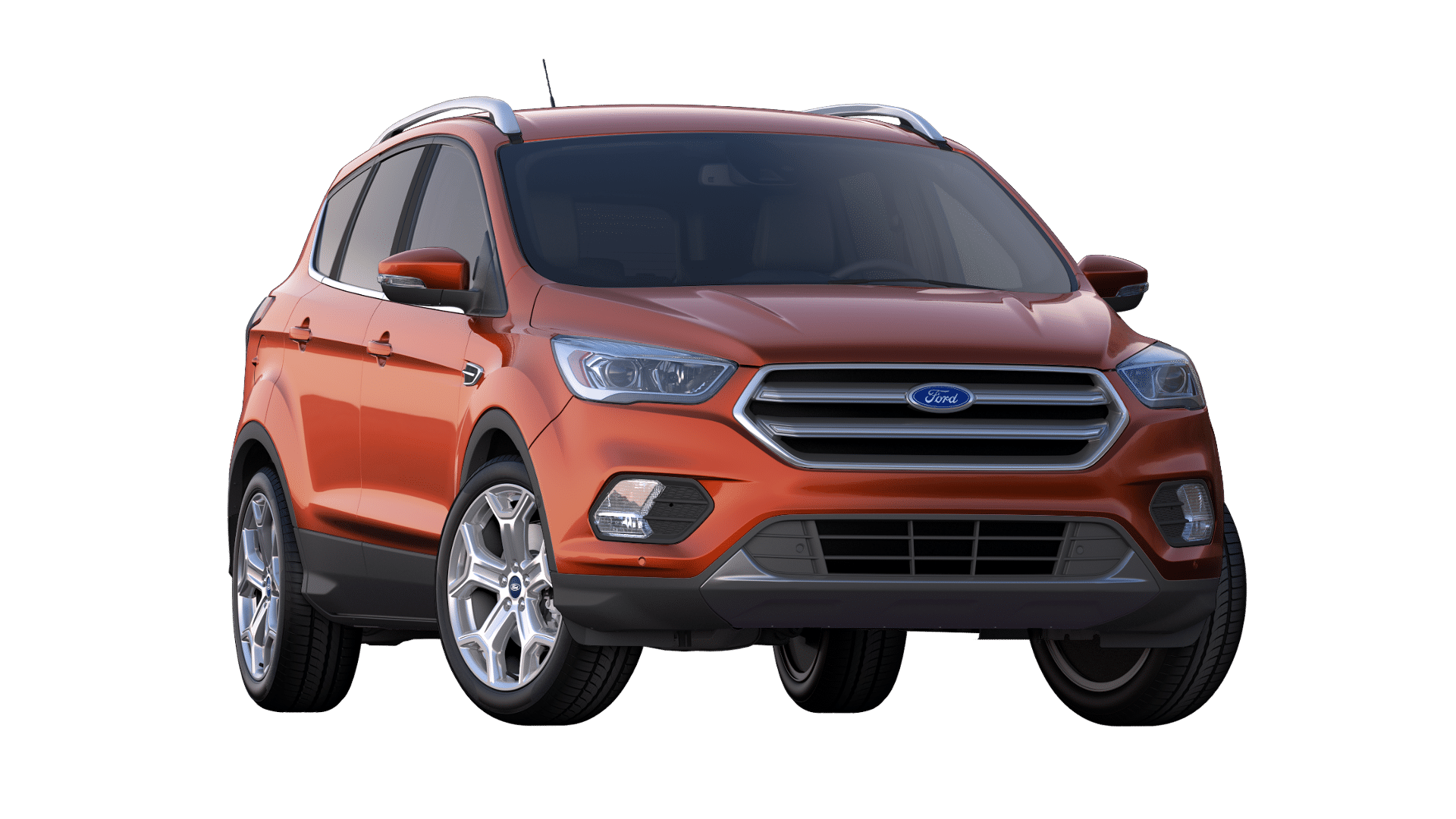 2019 Ford Escape Sedona Orange Exterior Color