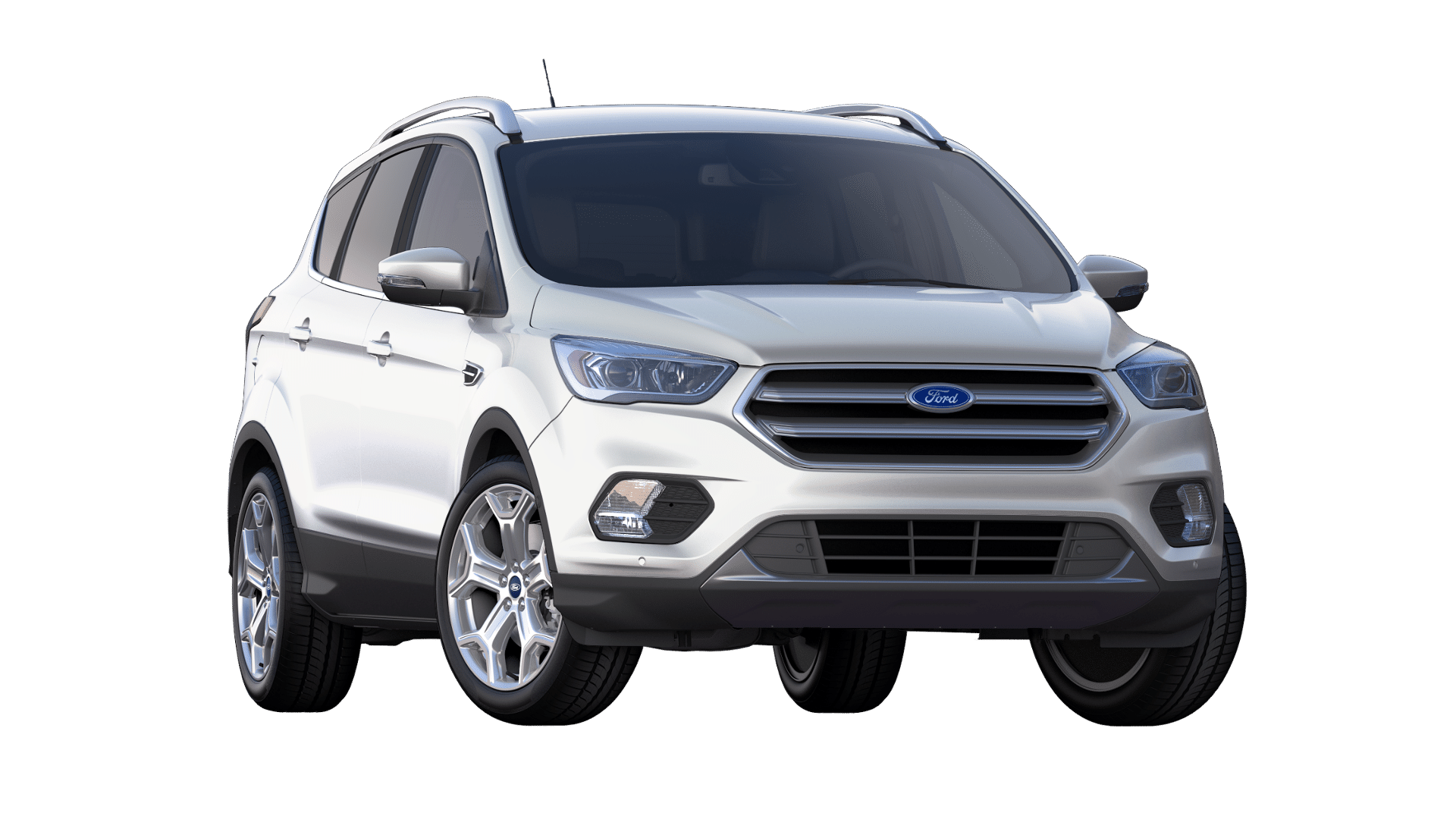 2019 Ford Escape White Platinum Exterior Color