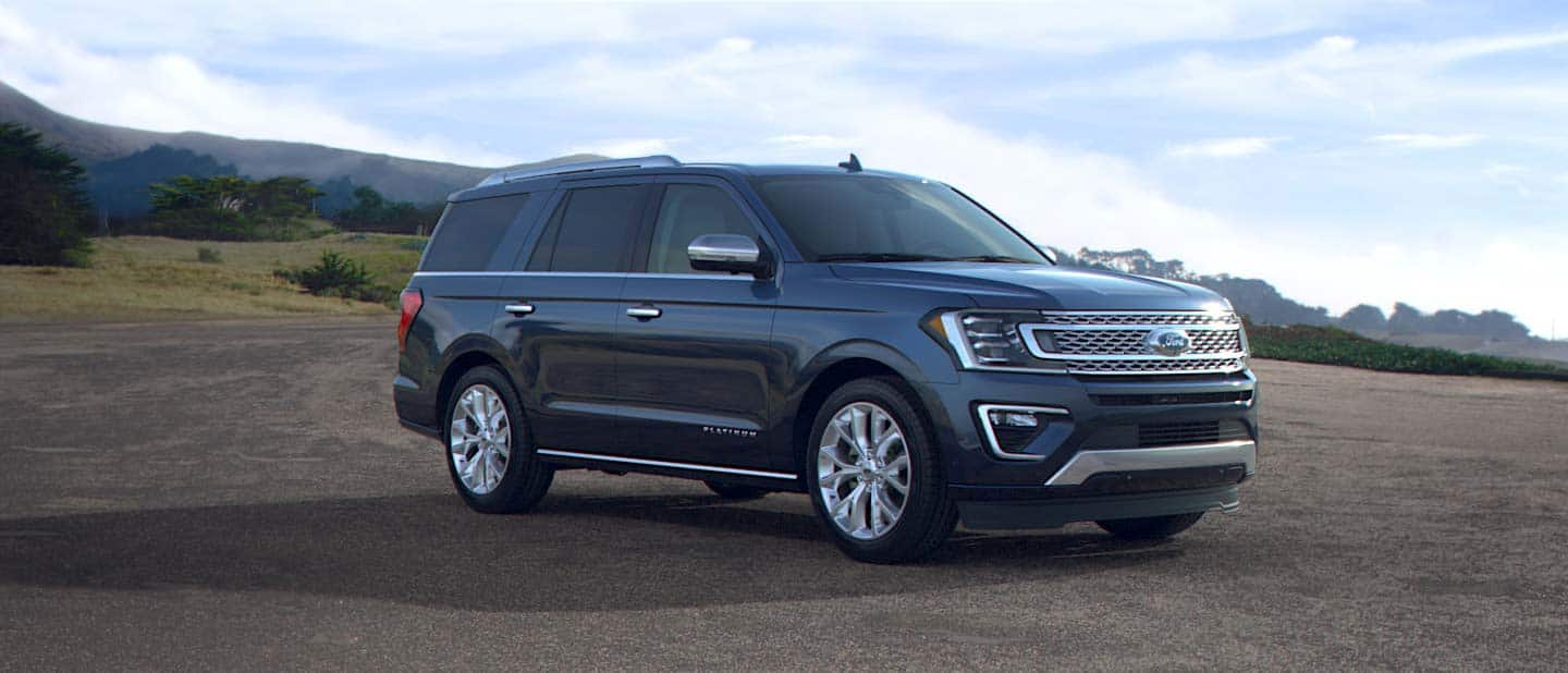 2019 Ford Expedition Blue Metallic Exterior Color