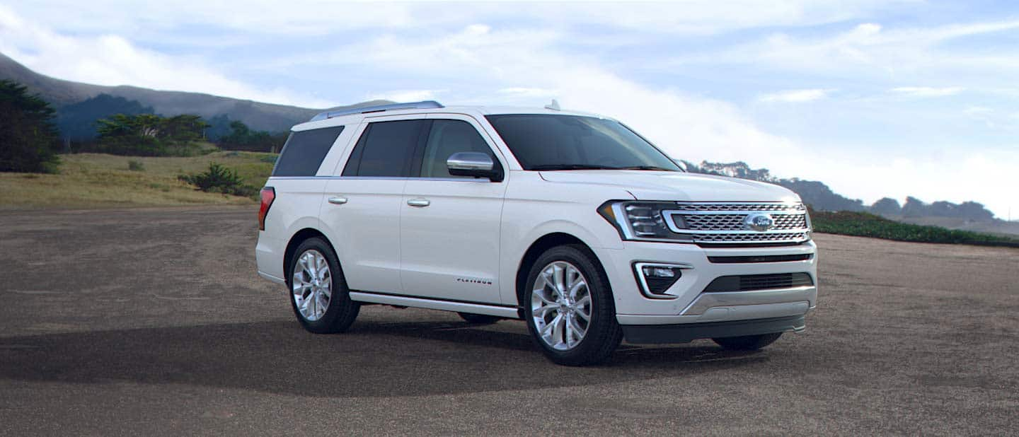 2019 Ford Expedition Oxford White Exterior Color