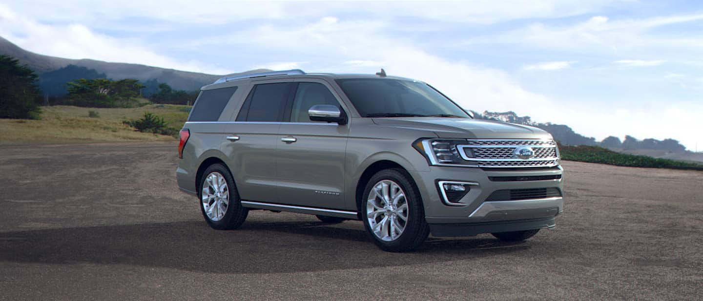 2019 Ford Expedition Silver Spruce Exterior Color