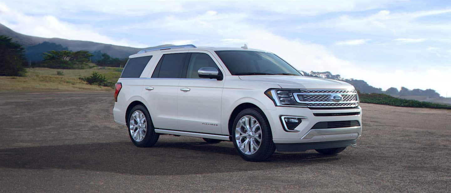 2019 Ford Expedition White Platinum Exterior Color