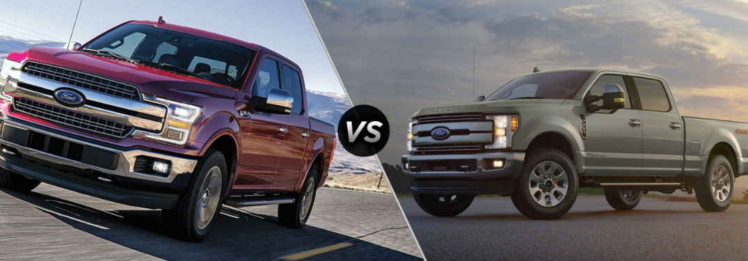 two 2019 Ford Trucks
