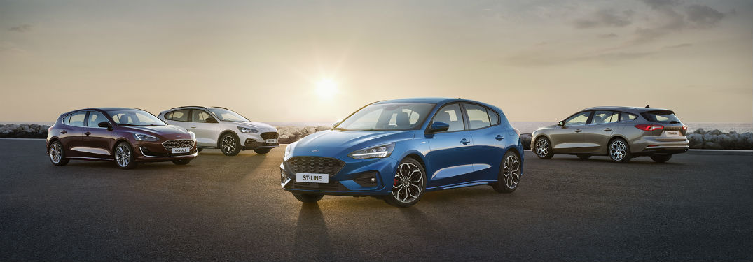 the global 2019 Ford Focus lineup
