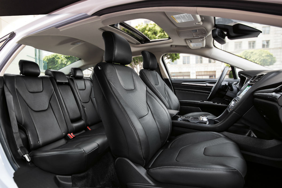 full interior of a 2019 Ford Fusion Energi