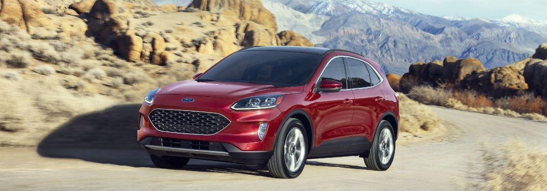 Check Out These Images of the Fully Redesigned 2020 Ford Escape Lineup at Brandon Ford in Tampa FL