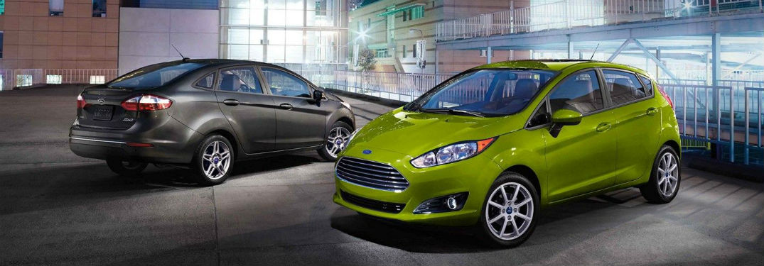 two 2019 Ford Fiesta models