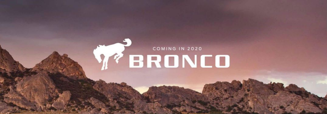 Ford Bronco release date poster