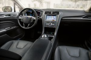 front interior of a 2019 Ford Fusion Hybrid