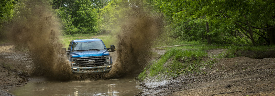How Off-Road Capable is the 2020 Ford Super Duty Lineup at Brandon Ford in Tampa FL