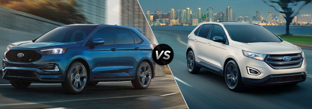2019 Ford Edge ST vs 2019 Ford Edge