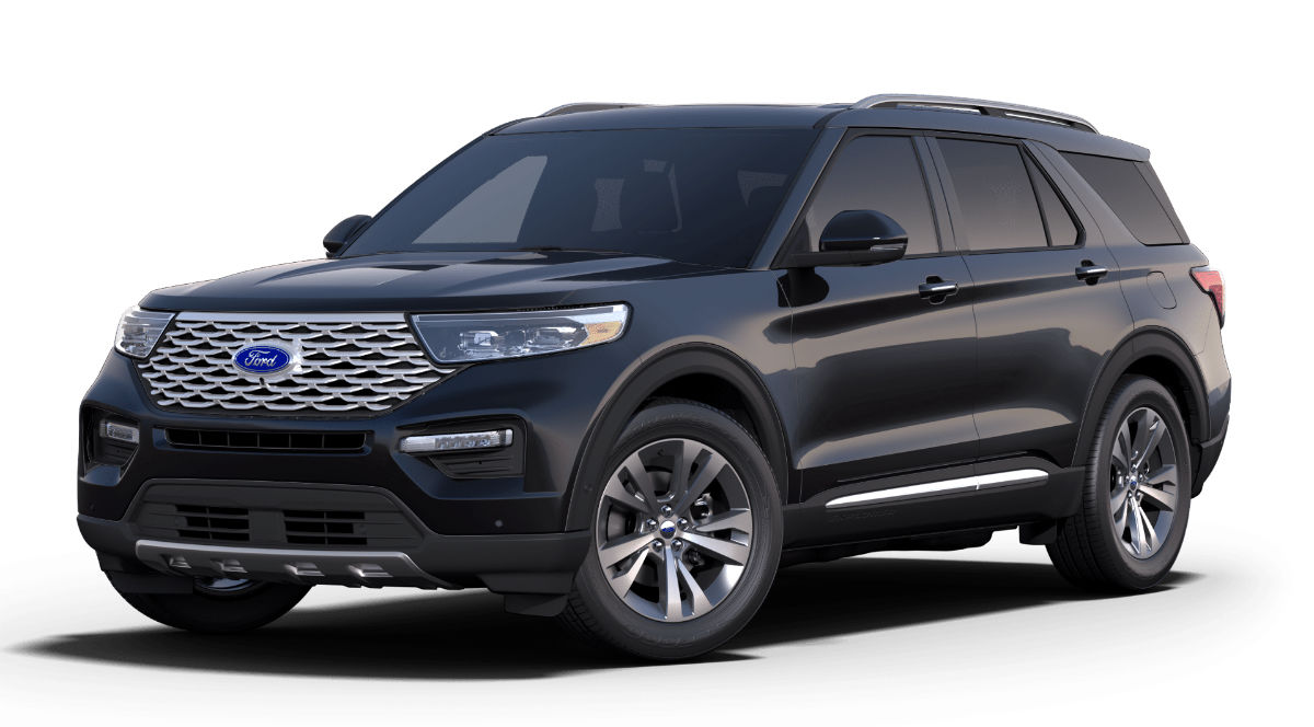 2020 Ford Explorer Agate Black Exterior Color