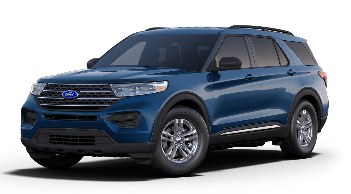 2020 Ford Explorer Atlas Blue Exterior Color