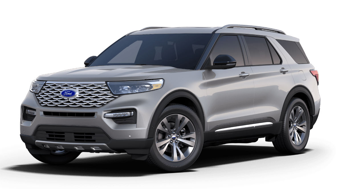 2020 Ford Explorer Iconic Silver Exterior Color