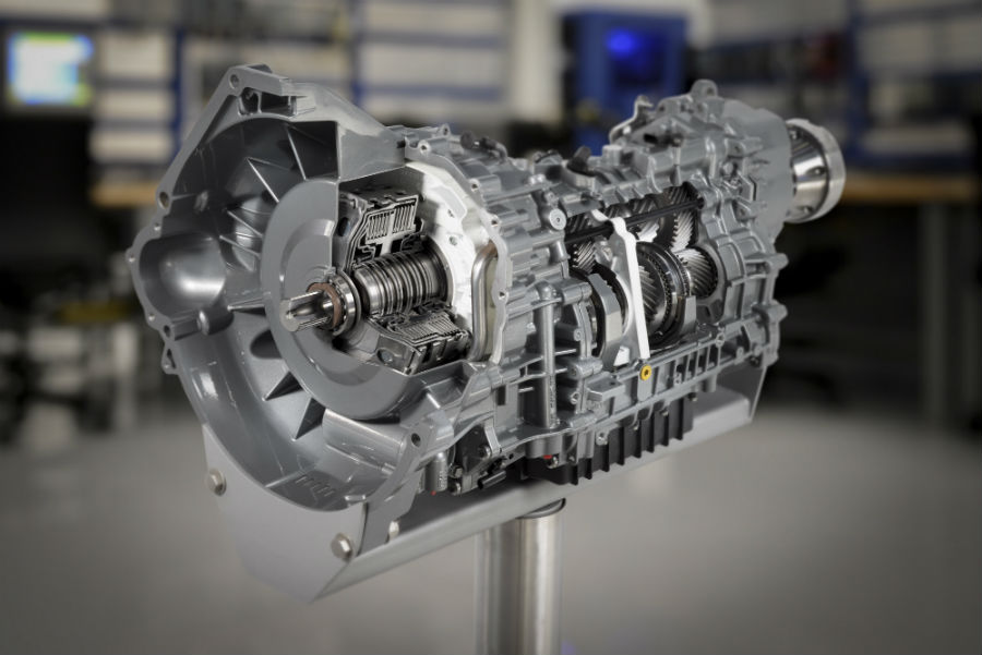 transmission of a 2020 Ford Mustang Shelby GT500