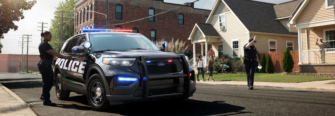 Ford Helps Police Departments Save Big on Fuel with Its All-New Pursuit-Rated Police Interceptor Utility Hybrid