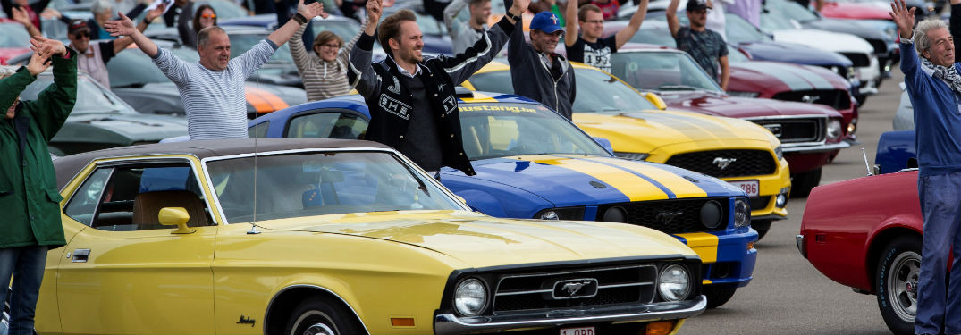 Experience the Largest Mustang Parade Ever Assembled with this Amazing Video