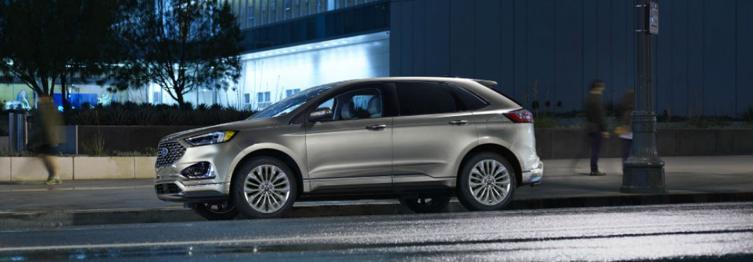Interior Space Measurements For The 2020 Ford Edge Lineup