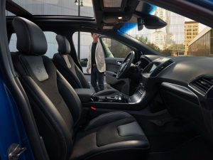 front interior of a 2020 Ford Edge