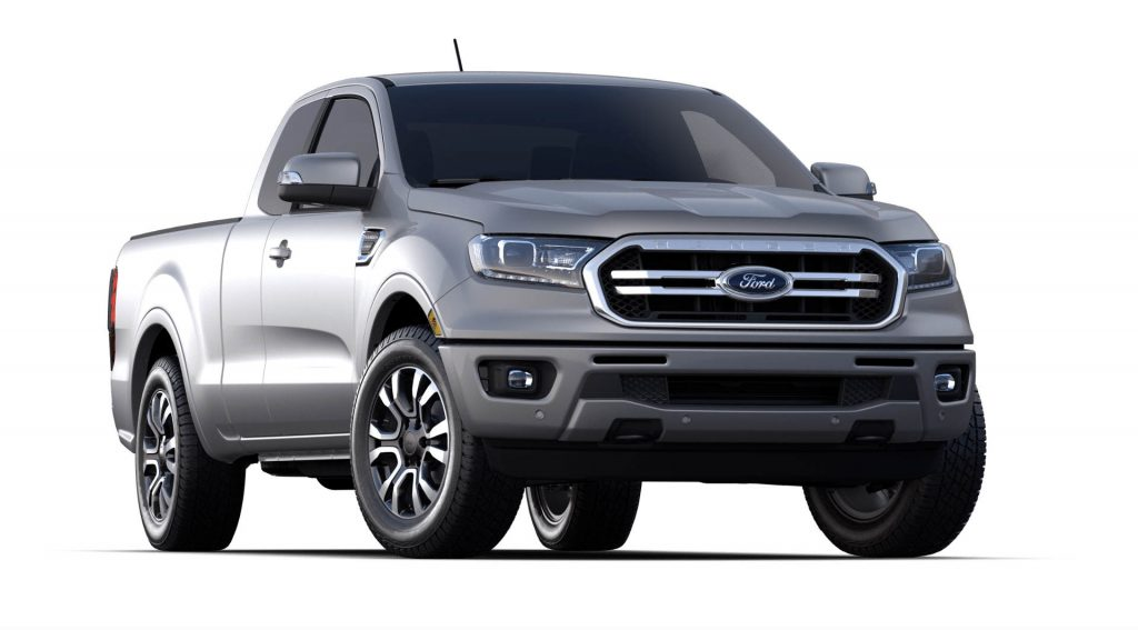 2020 Ford Ranger Iconic Silver Exterior Color