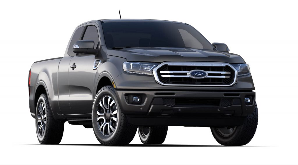 2020 Ford Ranger Magnetic Exterior Color